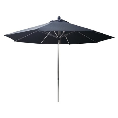 Picture of 2.0m Square Tuscany Polished Market Umbrella, Olefin cover